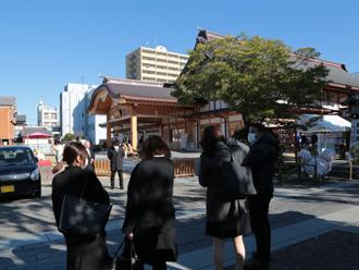 八剱神社へ初詣