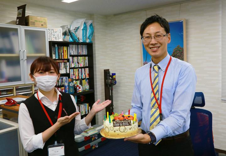 細谷部長、お誕生日おめでとうございます!