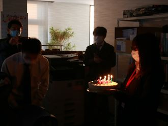 黒川さん誕生日