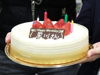 黒川さん24歳の誕生日