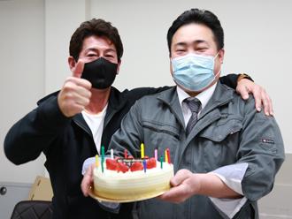 佐々木支店長お誕生日