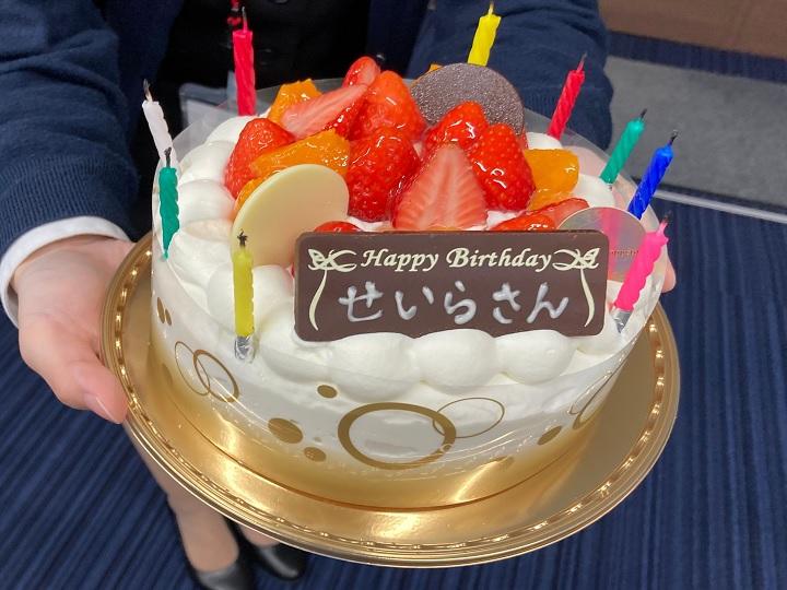 小泉さんケーキ