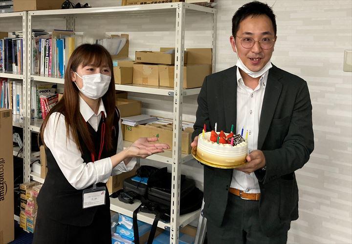山田さんと小泉さんのツーショット