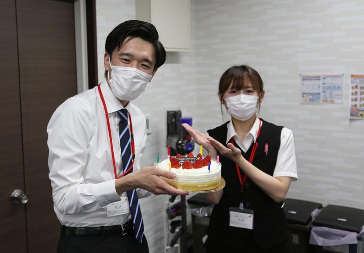 6月2日は今年入社した中田さんのお誕生日です!