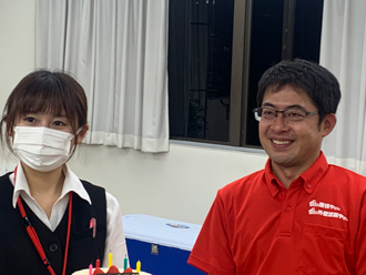 谷中さんのお誕生日